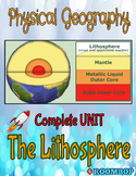 Physical Geography Unit 2 - The Lithosphere