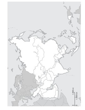 Physical Geography of Asia : Map Labeling Activity