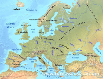 Physical Geography of Europe Bundle