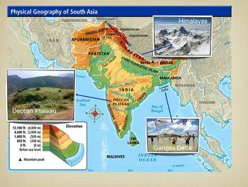 Physical Geography of India & The Green Revolution PowerPoint