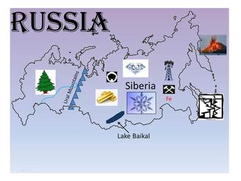 Physical Geography of Russia PowerPoint