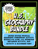 Physical Geography of the United States Bundle- Updated wi