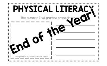 Physical Literacy Interactive Bulletin Board