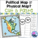 Physical Maps and Political Maps: Cut and Paste