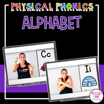Physical Phonics - Alphabet Movement Cards & Videos