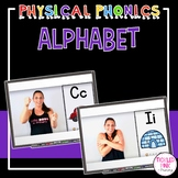 Alphabet Movement Cards & Videos: Physical Phonics - Dista