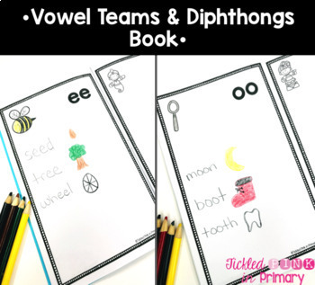 Physical Phonics - Vowel Teams & Diphthongs Movement Cards & Videos