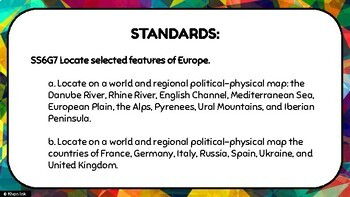 Geography of Europe: Physical & Political Features