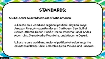 Physical & Political Features of Latin America & the Caribbean