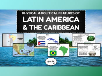 Geography of Latin America & the Caribbean: Physical & Political Features