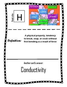 Physical Properties Seek and Find