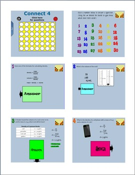 Physical Properties Connect 4
