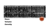 Physical Properties Introduction