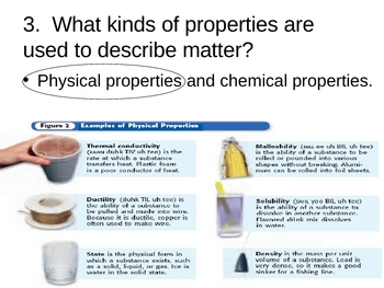 Physical Properties Matter PowerPoint Presentation