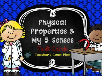 Physical Properties Task Cards - States of Matter
