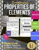 Physical Properties of Elements - Metals, Nonmetals, and Metalloids - Bundle