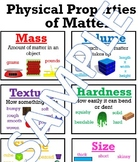 Physical Properties of Matter Anchor Chart
