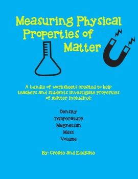 Physical Properties of Matter Bundle