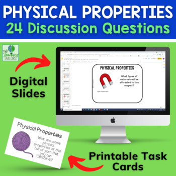Physical Properties of Matter Discussion Cards