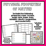 Physical Properties of Matter Foldable Interactive Notebook