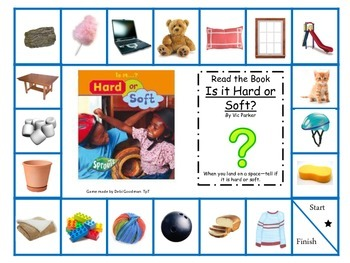 Physical Properties of Matter-Hard or Soft Board Game