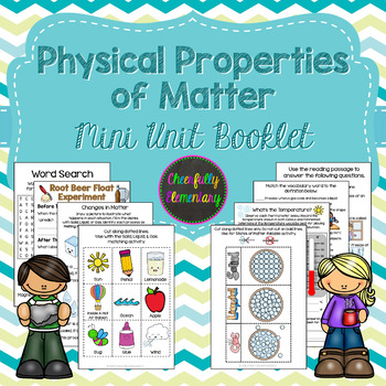 Physical Properties of Matter Mini-Booklet: Solid, Liquid,