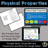 Physical Properties of Matter for Google Slides and PowerPoint