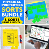 Physical Properties of Matter Sorting Activities   Print a