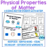 Physical Properties of Matter Unit (Special Education)