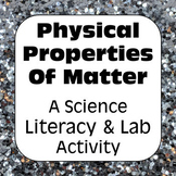 Physical Properties of Matter Words That May Be Used to De
