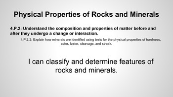 Physical Properties of Rocks and Minerals