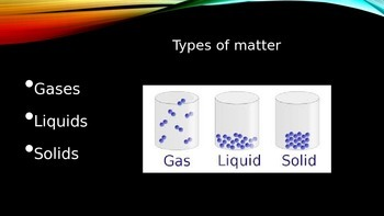 Physical Properties of matter (States of Matter)
