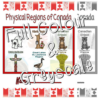 Physical Regions of Canada Lapbook