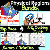 Physical Regions of Canada BUNDLE