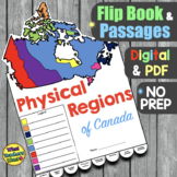 Physical Regions of Canada Activity Distance Learning