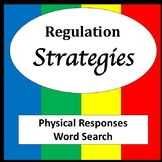 Physical Responses Word Search Puzzles [Zones of Self Regulation Activities]