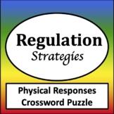 Physical Responses Crossword Puzzles [Zones of Self Regulation Activities]
