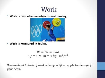 Physical Science: 13.1 Work and Energy