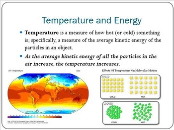 Physical Science: 14.1 Heat and Temperature