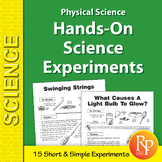 Physical Science: 15 Hands-On Science Experiments