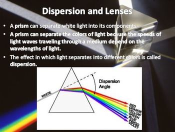 Physical Science: 16.4 Refraction, Lenses, and Prisms