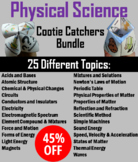 Physical Science Bundle: Energy, Matter, Scientific Method, Magnets Activities