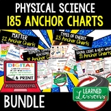Physical Science Anchor Charts BUNDLE 185 Charts (Physical Science Bundle)