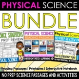 Physical Science 4 IN 1 Huge Resource Bundle (Middle Grades) NO PREP!