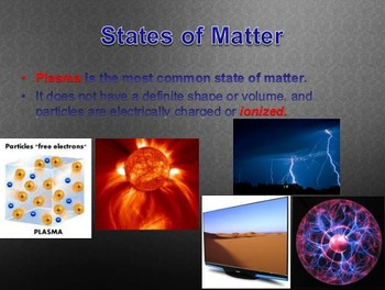 Physical Science: 3.1 Matter and Energy