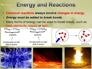 Physical Science: 7.1 The Nature of Chemical Reactions