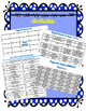 Physical Science BINGO! Game