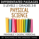 Physical Science: Differentiated Passages Bundle