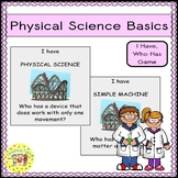 Physical Science Basics I Have, Who Has Game FREEBIE