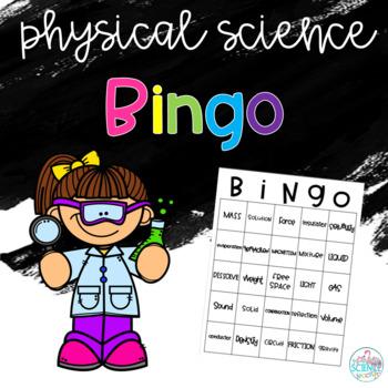 Physical Science Bingo